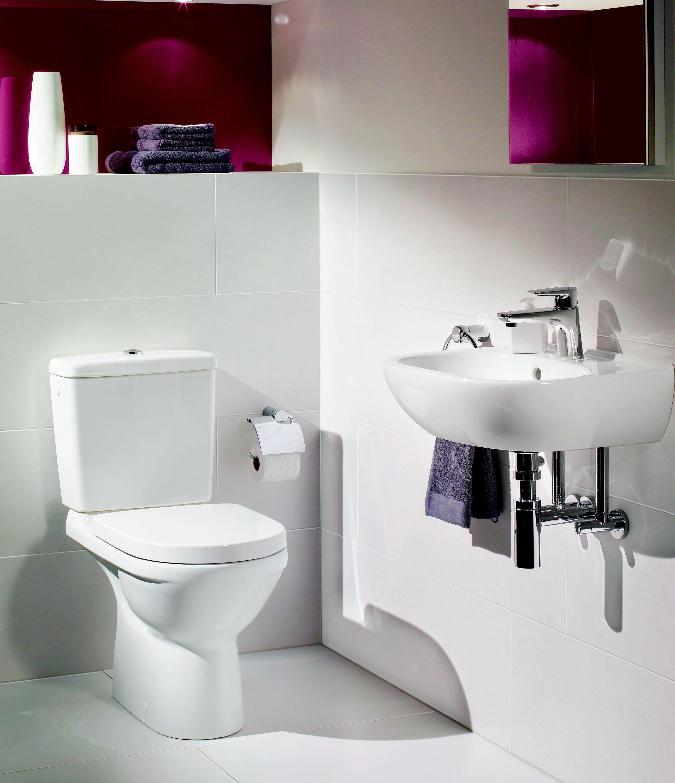 villeroy o novo combipack wc sur pied sans bride boch. Black Bedroom Furniture Sets. Home Design Ideas
