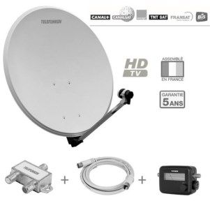 Pointeur satellite guide d 39 achat - Orientation parabole canalsat ...