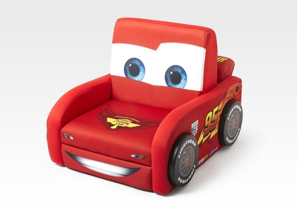 disney fauteuil club flash mcqueen cars. Black Bedroom Furniture Sets. Home Design Ideas