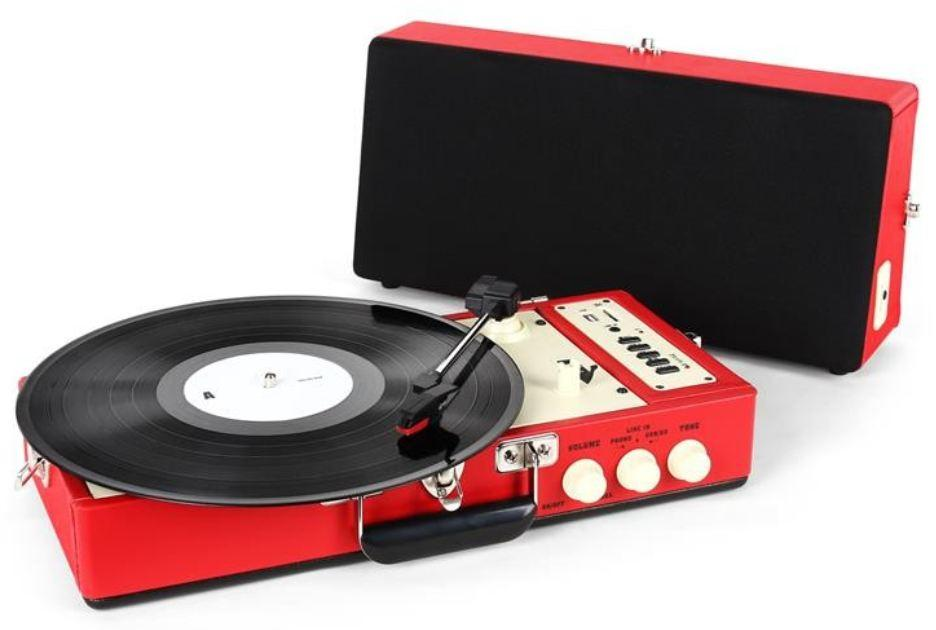 Ricatech platine disque vinyl rtt 98 red cat gorie platine vinyle - Lecteur disque vinyl ...