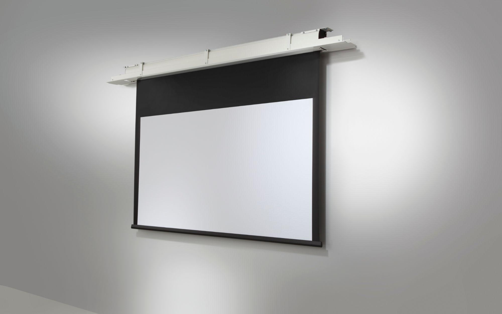 Celexon ecran de projection economy motoris 220 x 165 cm - Ecran de projection encastrable plafond ...