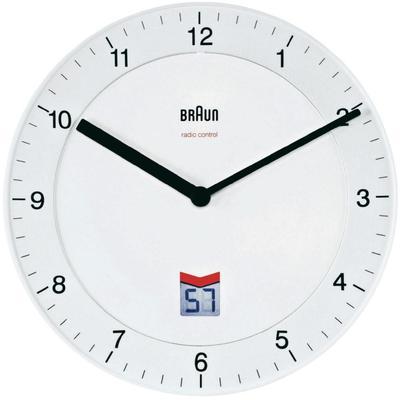 braun bnc 006 horloge radio pilot e blanc cat gorie horloges pendule et comtoise. Black Bedroom Furniture Sets. Home Design Ideas