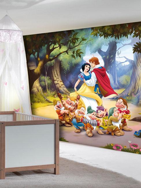 Disney papier peint blanche neige princesse 360 x 254 cm for Decoration maison disney