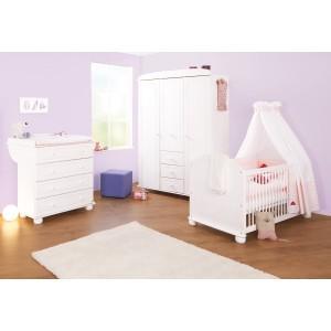 chambre b b pinolino clara. Black Bedroom Furniture Sets. Home Design Ideas