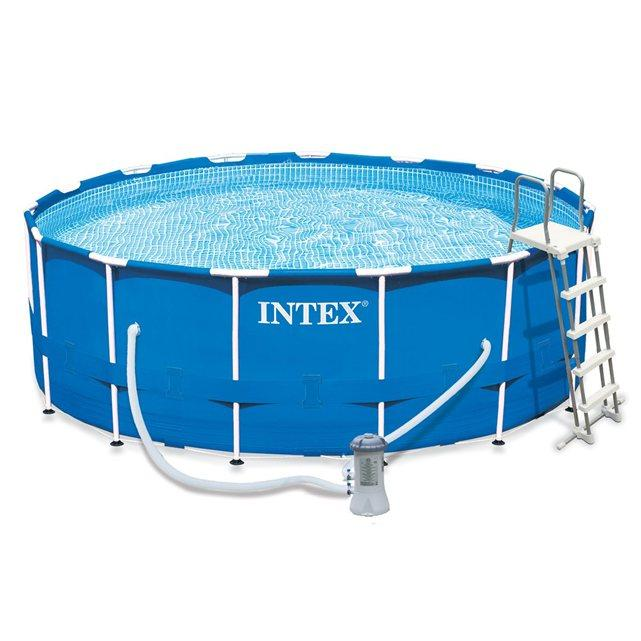 intex liner tubulaire rond bleu 4 27 x 1 22 m liner seul cat gorie accessoire pour spa et jacuzzi. Black Bedroom Furniture Sets. Home Design Ideas