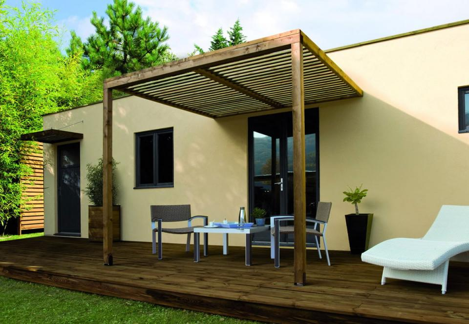 jardipolys ccarport en bois longueur 257 cm lumilam cat gorie abri de jardin. Black Bedroom Furniture Sets. Home Design Ideas