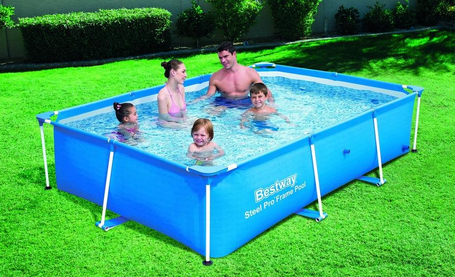 Bestway piscine tubulaire 412 x 201 x h122 cm power steel for Accessoire piscine tubulaire bestway