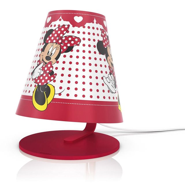 disney le de chevet minnie mouse philips