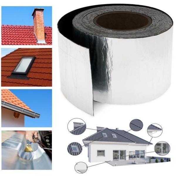 probache bande d tanch it alu 10mx10cm adh sif. Black Bedroom Furniture Sets. Home Design Ideas