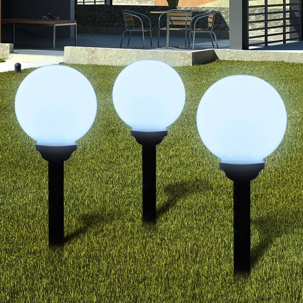 Eclairage exterieur boule for Boule eclairage exterieur jardin
