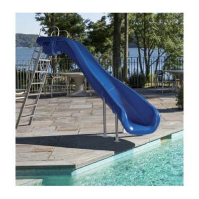Toboggan piscine gonflable top piscine gonflable jardin for Toboggan piscine hors sol