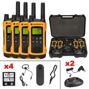 Talkie walkie jaune