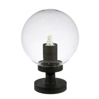 Akanua kit versailles potelet 10 cm et sphre transparent for Eclairage exterieur jardin globe