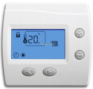 CChauffage  thermostat digital domocable