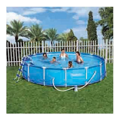 Cpiscine tubulaire ronde for Piscine tubulaire bestway 4m12x2m01x1m22