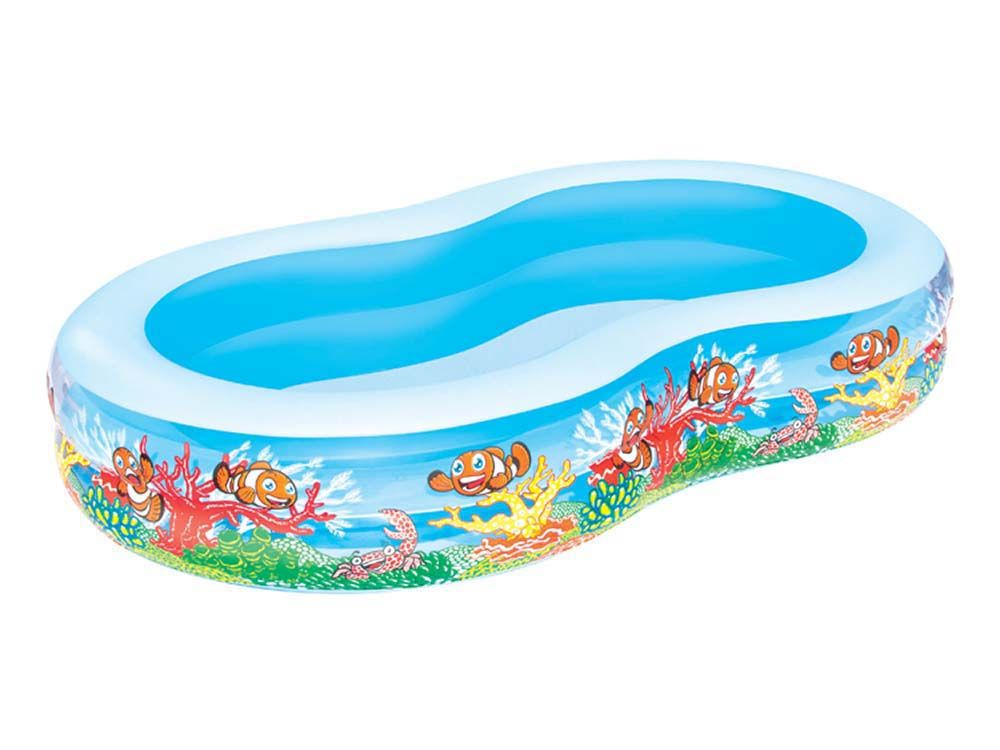 Bestway piscine play pool familiale en huit x for Accessoire piscine 62