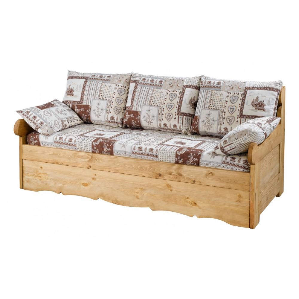 canap structure bois massif. Black Bedroom Furniture Sets. Home Design Ideas