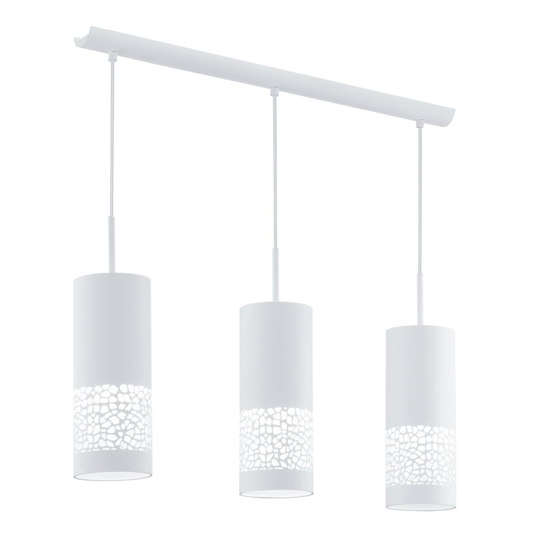 Eglo ccarmelia suspension 3 lumi res blanc - Suspension 3 lumieres ...