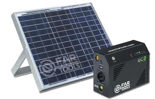 fartools cchargeur solaire avec panneau solaire ecosource. Black Bedroom Furniture Sets. Home Design Ideas