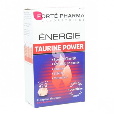 forte pharma energie taurine power 30 cps. Black Bedroom Furniture Sets. Home Design Ideas