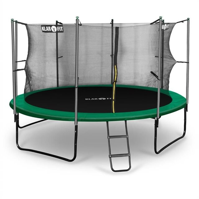 klarfit c rocketstart 366 trampoline 366cm filet de s cu. Black Bedroom Furniture Sets. Home Design Ideas
