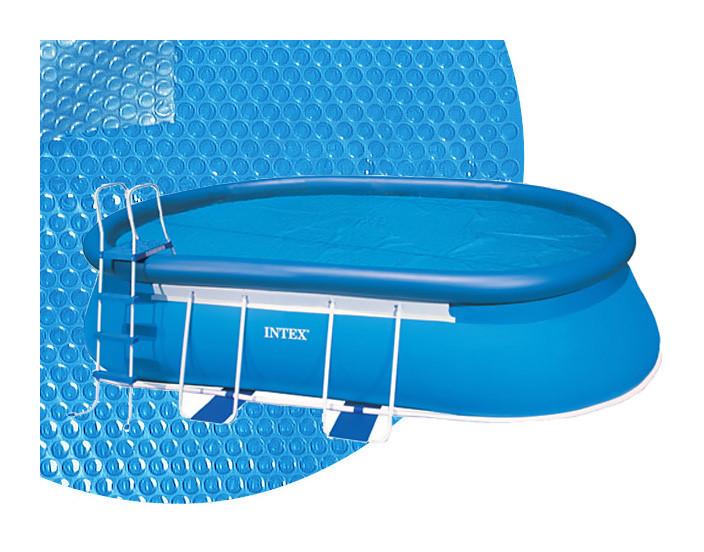 Kokido ccouverture solaire intex 180 piscine ellipse 7 3 for Chauffage solaire piscine compatible intex