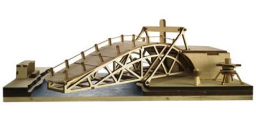 Revell c pont pivotant leonardo da vinci - Pont leonard de vinci ...