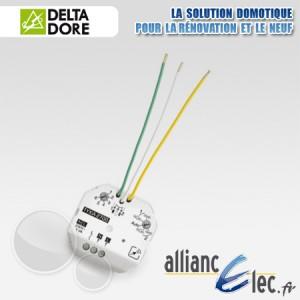 Delta dore emetteur pile tyxia 2610 2620 2640 2650 for Delta dore tyxia 2610