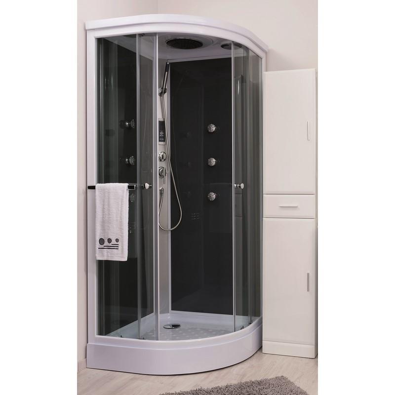 Catgorie douche page 2 du guide et comparateur d 39 achat - Cabine de douche quart de cercle 90x90 ...
