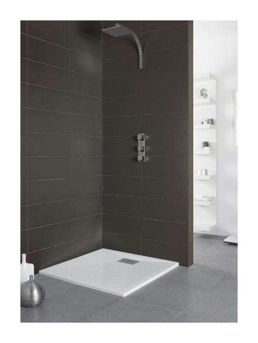 kinedo c receveur kinesurf extra plat 100 x 100 cm bl. Black Bedroom Furniture Sets. Home Design Ideas