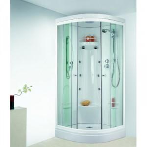 leda cabine odyssee 1 4 rond portes coulissantes hydro. Black Bedroom Furniture Sets. Home Design Ideas