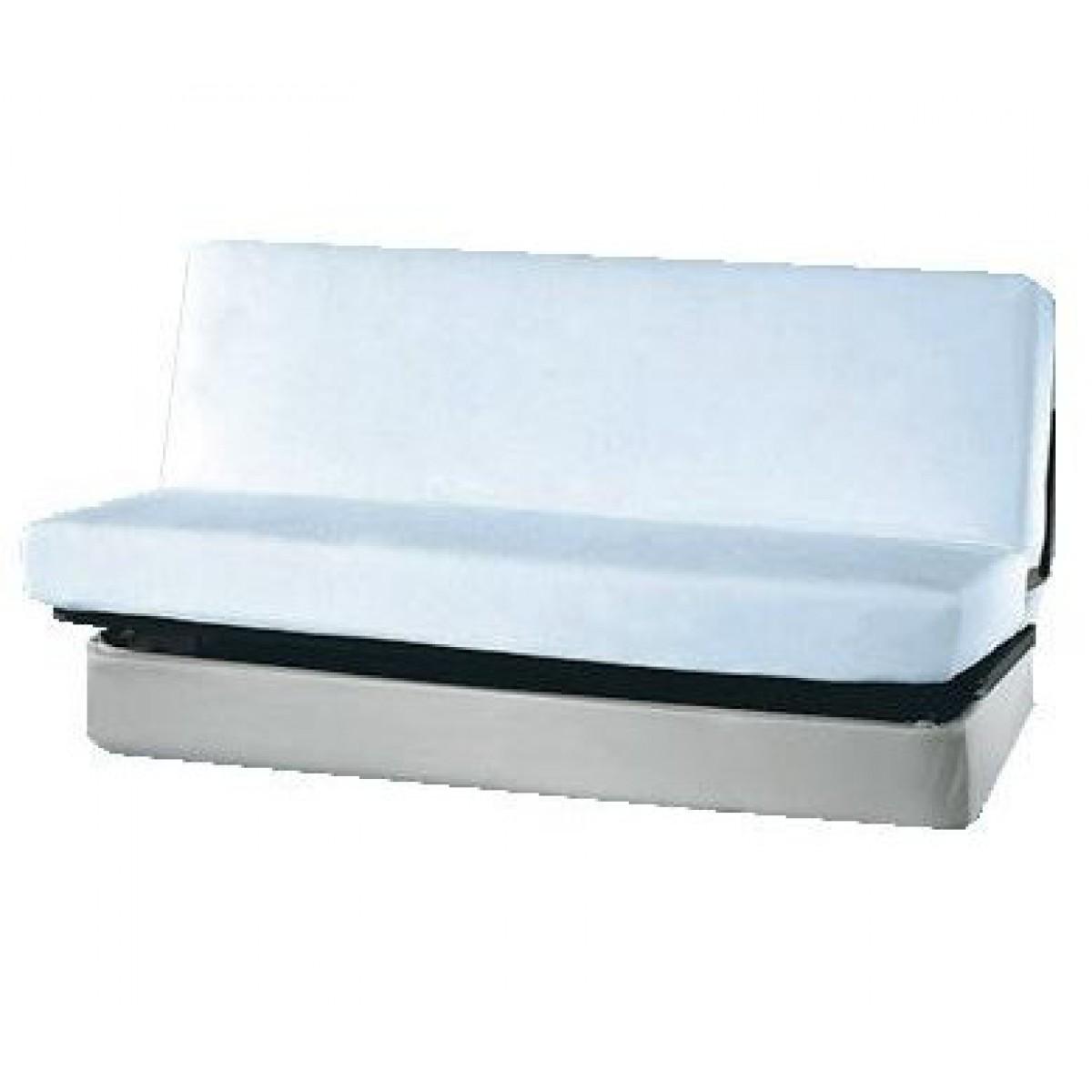 terre drap housse pour clic clac 100 coton blanc de. Black Bedroom Furniture Sets. Home Design Ideas