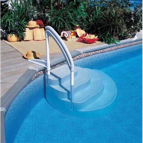 Cat gorie echelle de piscine du guide et comparateur d 39 achat for Articulation echelle piscine