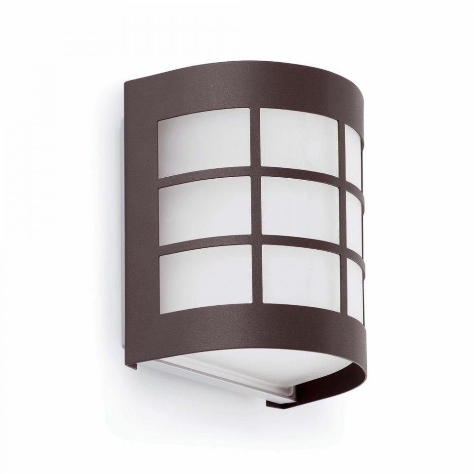 Faro c 70717 applique extrieure de jardin grid gris for Applique murale exterieur anthracite