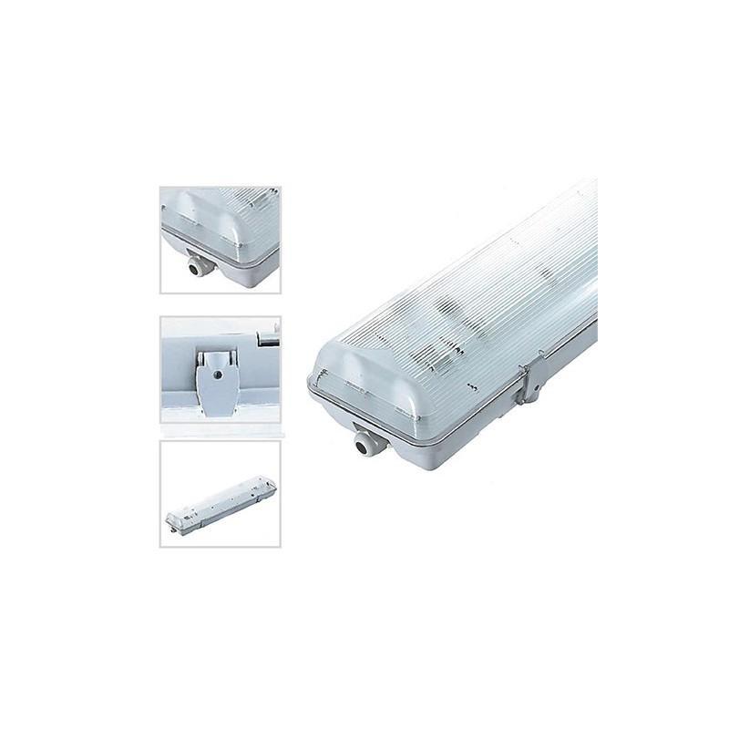 vision c el boitier ip65 pour 2 tubes led 1500 cat gorie. Black Bedroom Furniture Sets. Home Design Ideas
