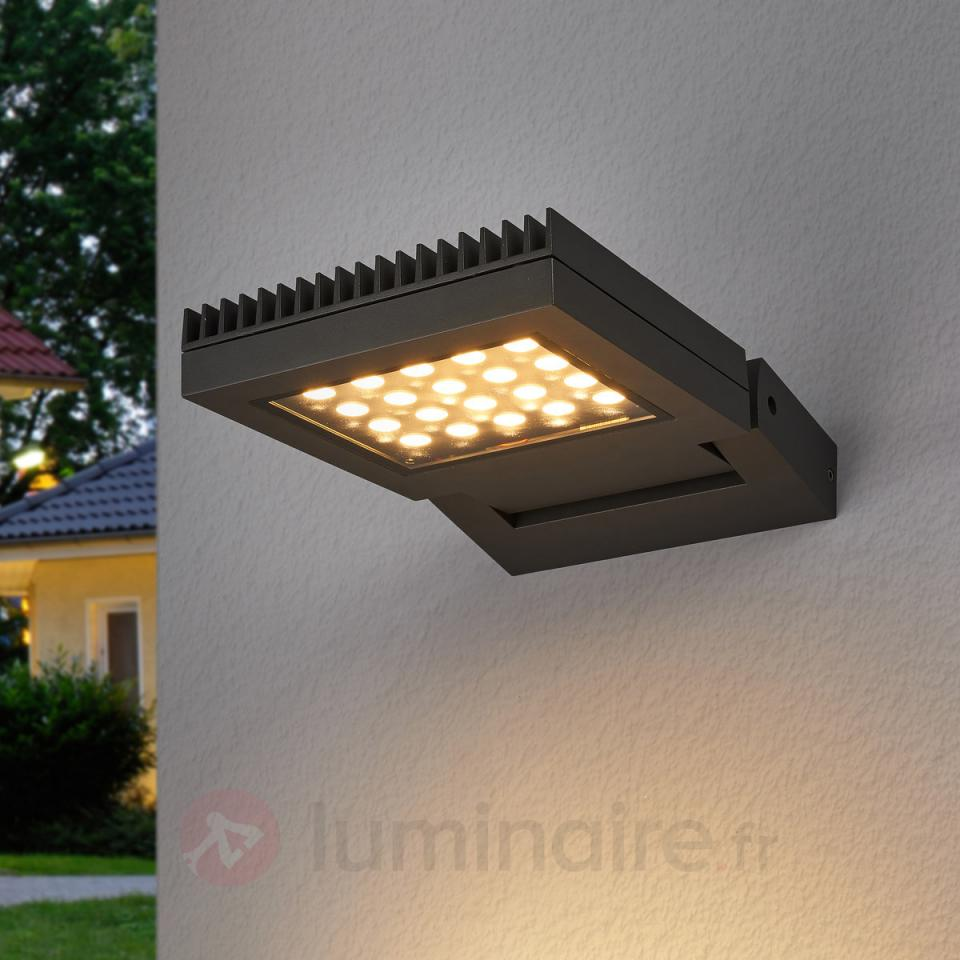 Clairage led guide d 39 achat for Spot mural exterieur