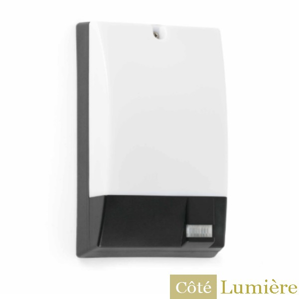 Faro c applique murale extrieure led herm pir for Applique murale exterieure faro