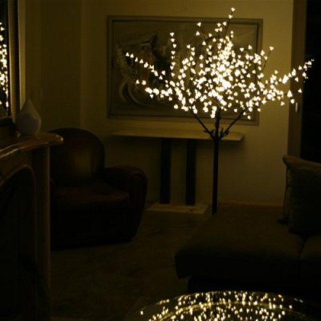 sans c marque cerisier lumineux 1m80 blanc chaud. Black Bedroom Furniture Sets. Home Design Ideas