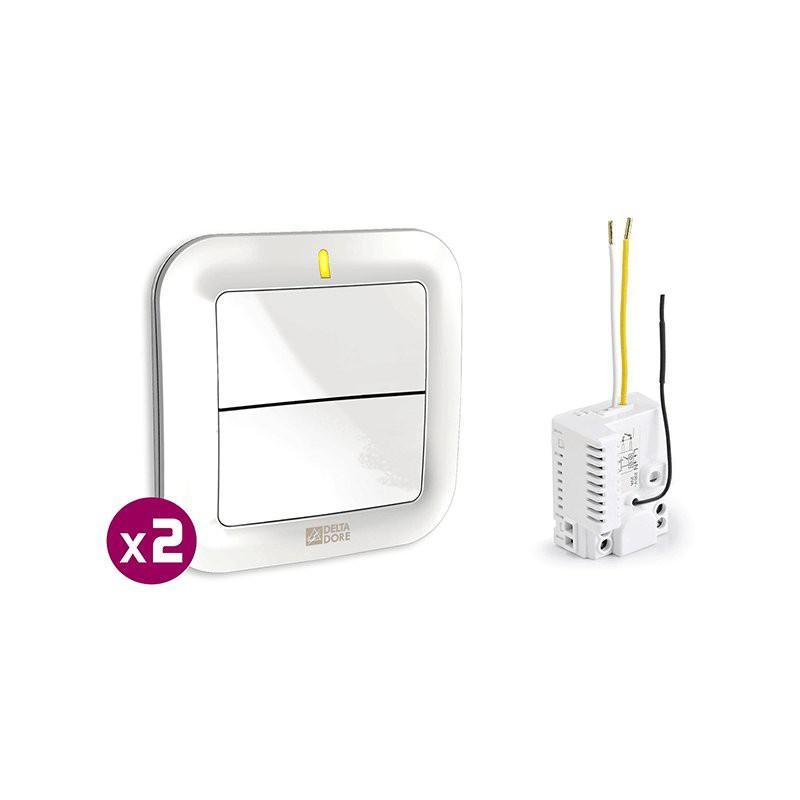 Circuit emetteur recepteur guide d 39 achat - Interrupteur sans fil delta dore ...