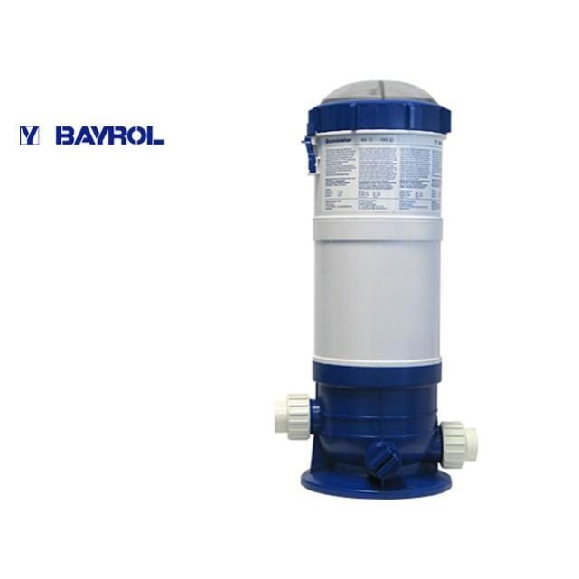 Bayrol distributeur automatique de brome brominator 130 for Piscine brome