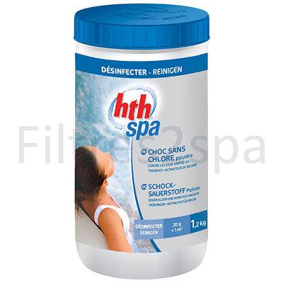 Hth traitement choc loxygne actif pour spa for Piscine a l oxygene actif