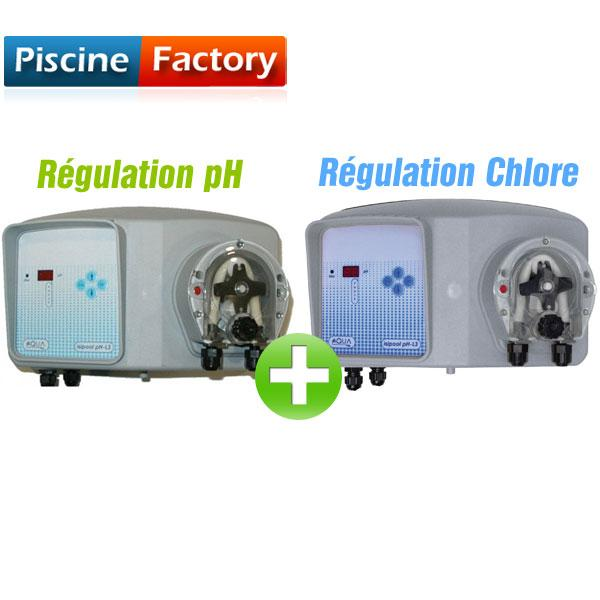 R gulation ph guide d 39 achat for Chlore libre piscine
