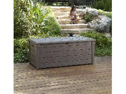 Chalet coffre de luxe jardin rsine 145x70x60 for Chalet de jardin de luxe