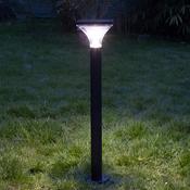Inspire ibiza borne extrieur solaire noir for Borne eclairage exterieur solaire
