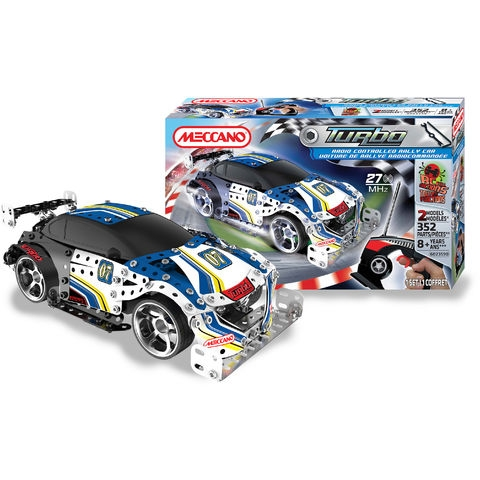 meccano voiture rally turbo rc gar on de 8 ans 12 ans. Black Bedroom Furniture Sets. Home Design Ideas
