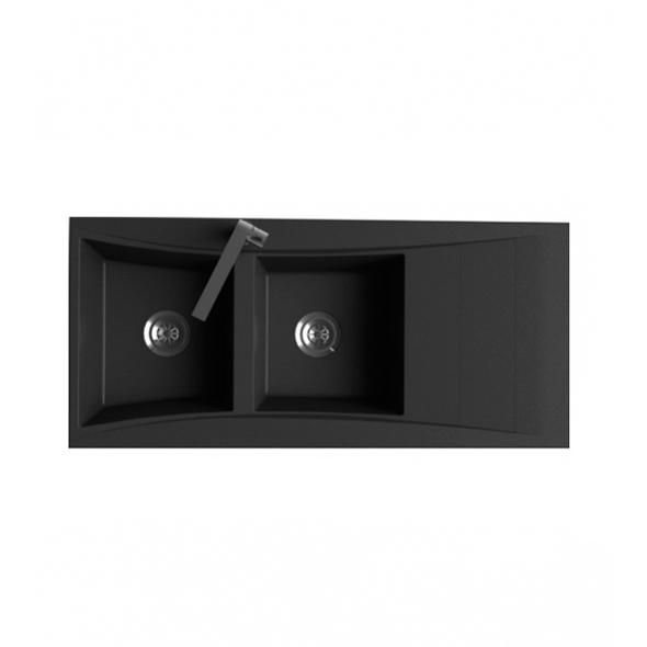 nettoyer evier granit noir vier encastrer astracast. Black Bedroom Furniture Sets. Home Design Ideas