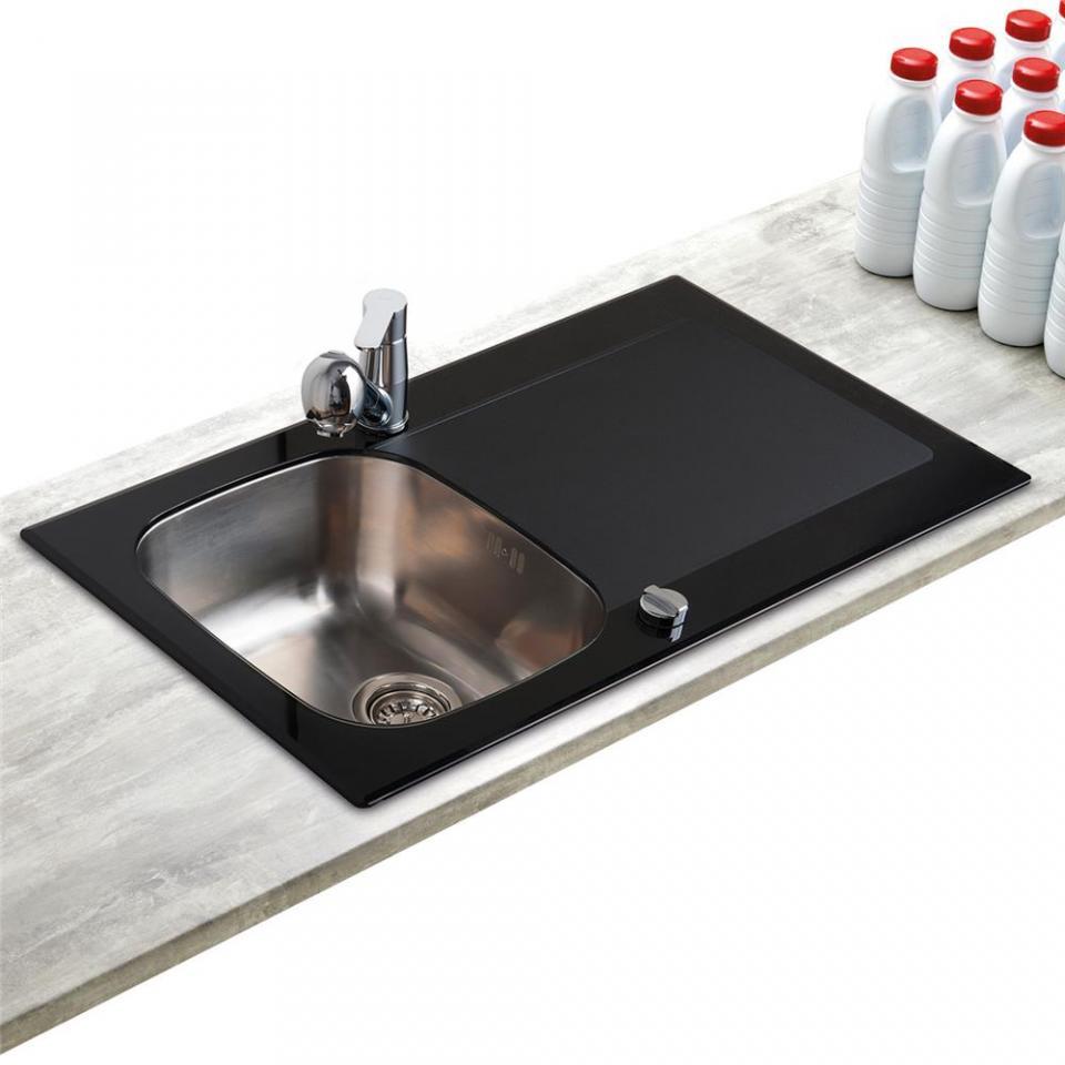 entretien evier resine noir evier resine noir evier cuisine noir evier de cuisine grado inox et. Black Bedroom Furniture Sets. Home Design Ideas