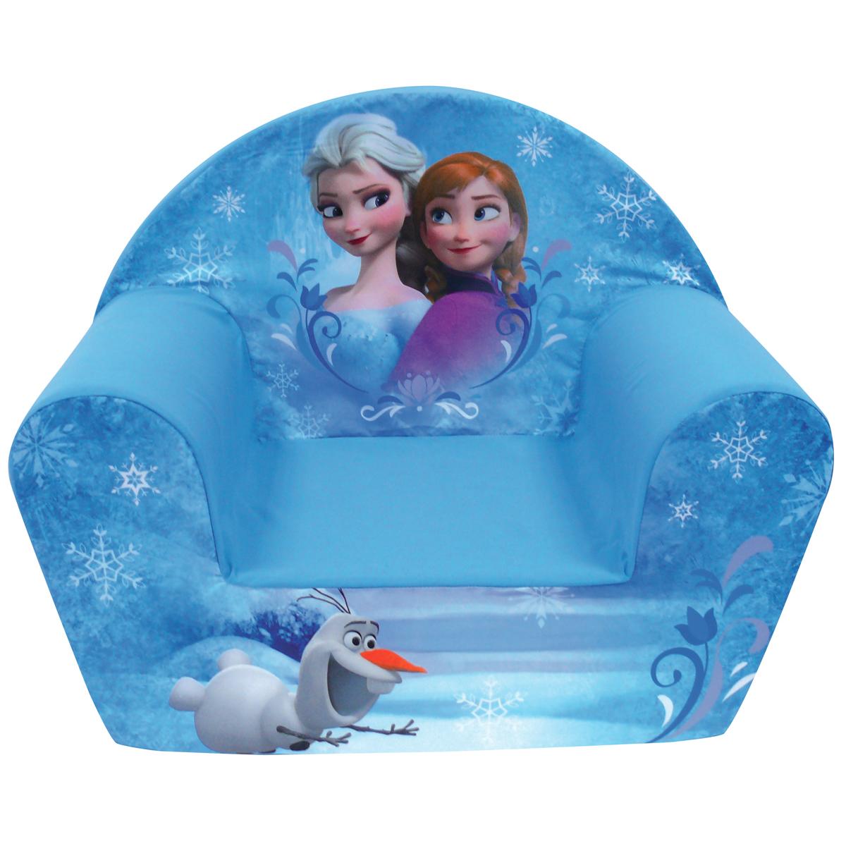 Conforama fauteuil club en mousse la reine des neiges disney for Housse fauteuil mousse bebe