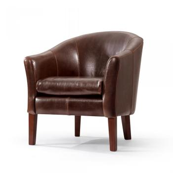 Fabricants guide d 39 achat - Fauteuil crapaud cuir marron ...