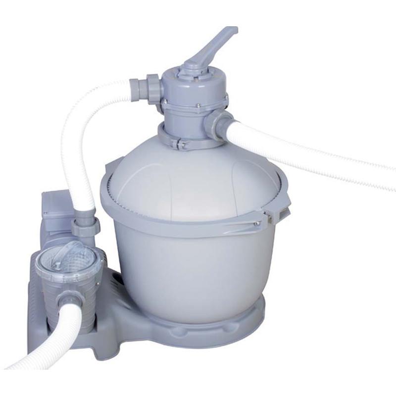 Bestway filtre sable flowclear 5 69 m3 h pompe 300 watts for Accessoire pour piscine bestway